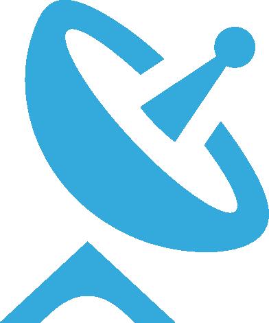 icon of a satellite