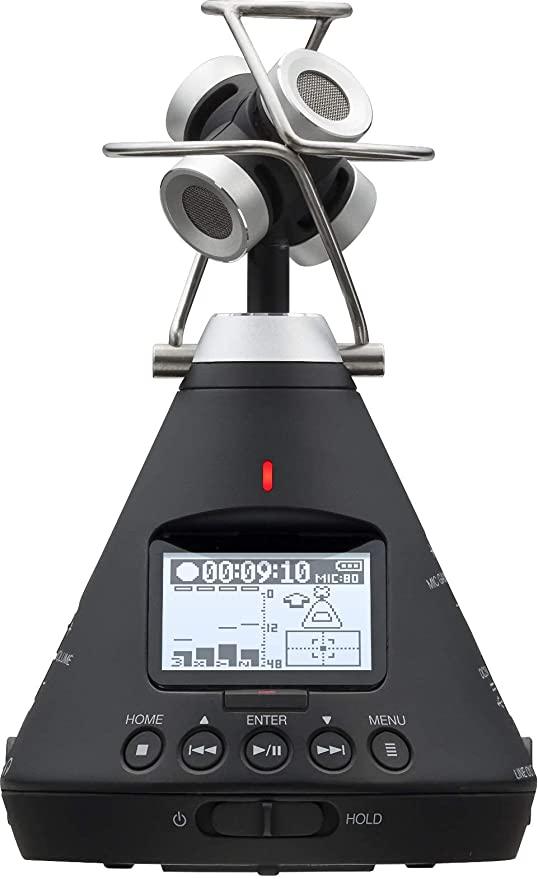 Zoom H3-VR audio recorder.